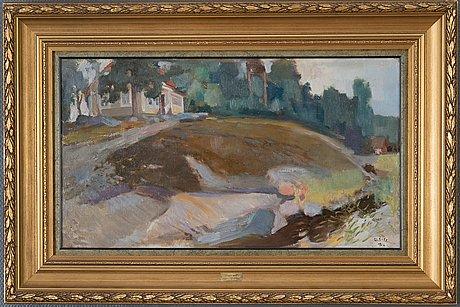 Lennart segerstråle, villa by the shore.