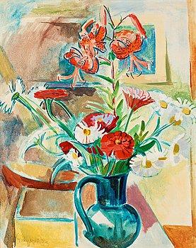 16. Isaac Grünewald, Flowers in summer.