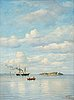 Oscar kleineh, calm day at the sea.