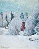 Pekka halonen, winter motif.