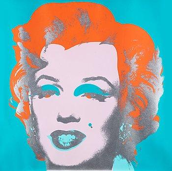 """204. Andy Warhol, """"Marilyn""""."""