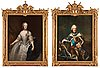 Antoine pesne circle of, king adolf fredrik (1710-1771) & queen lovisa ulrika (1720-1782).