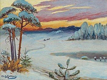 717. Olof Sager-Nelson, Byälven i Värmlands Nysäter (From Värmland).