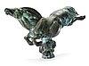 """Carl milles, """"flygande hästen"""" (=the flying horse)."""