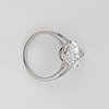 A 5.10 ct marquise-cut diamond ring. quality e/if according to hrd certificate.