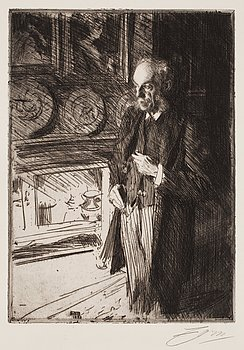 """724. Anders Zorn, """"Henry Marquand""""."""