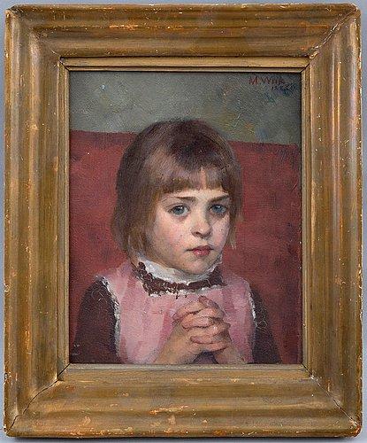 Maria wiik, young girl.