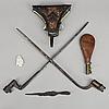 Parti vapen, 6 st, mestadels 1800-tal.