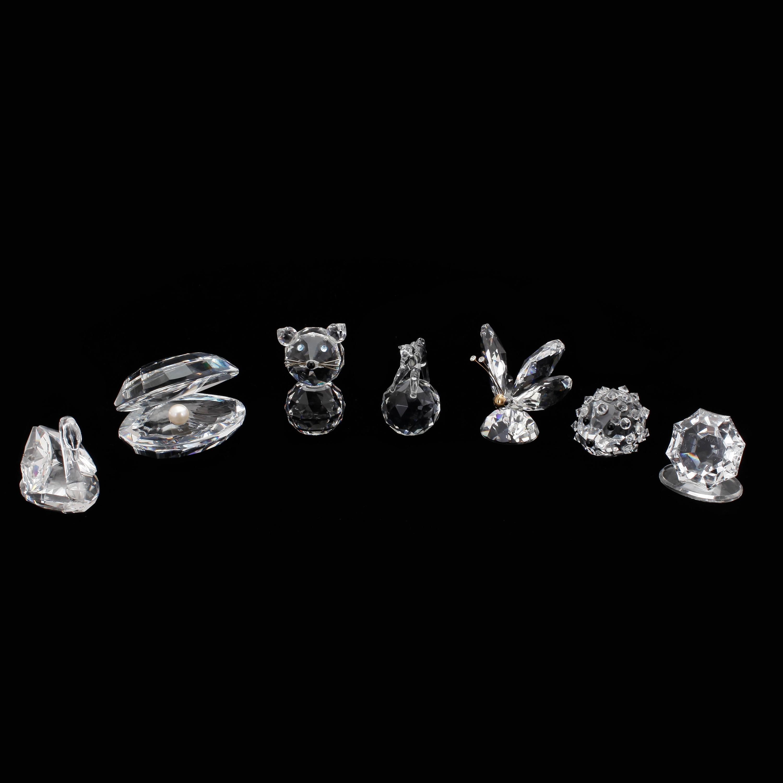 swarovski kristaller figurer