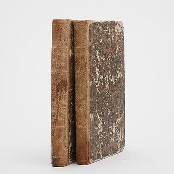 "BOK. PALMSTRUCH, J. W. ""SVENSK ZOOLOGI"" 2 vol. Stockholm, Tryckt hos Carl Delén 1809."