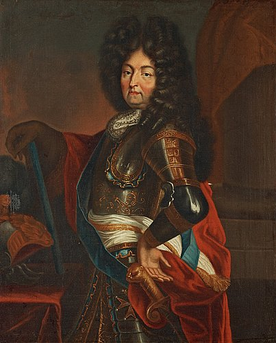 Hyacinthe rigaud follower of, louis xiv of france (1638-1715).