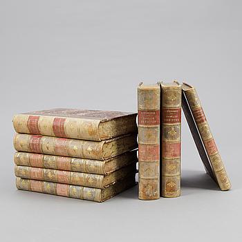AUGUST STRINDBERGS SAMLADE VERK, 55 vol, Albert Bonniers 1916-1919.