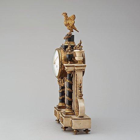 A louis xvi late 18th century mantel clock.