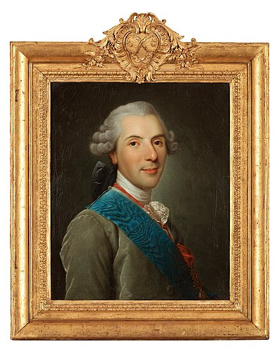 "Alexander roslin circle of, ""le dauphin, louis de france"" (1729–1765)."