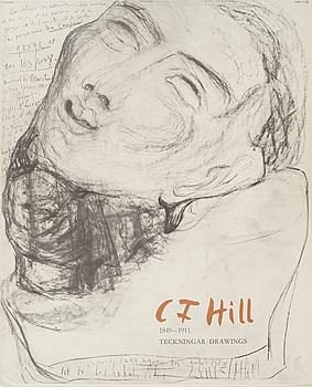 CARL FREDRIK HILL, efter, mapp med sex st offsettryck, utgiven i samarbete med Malmö Museum 1974.