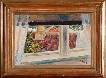 6. MARCUS COLLIN, WINDOW VIEW.