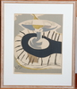 Braque, georges samt lindqvist, jan, litografier, sign i tryck resp blyerts.