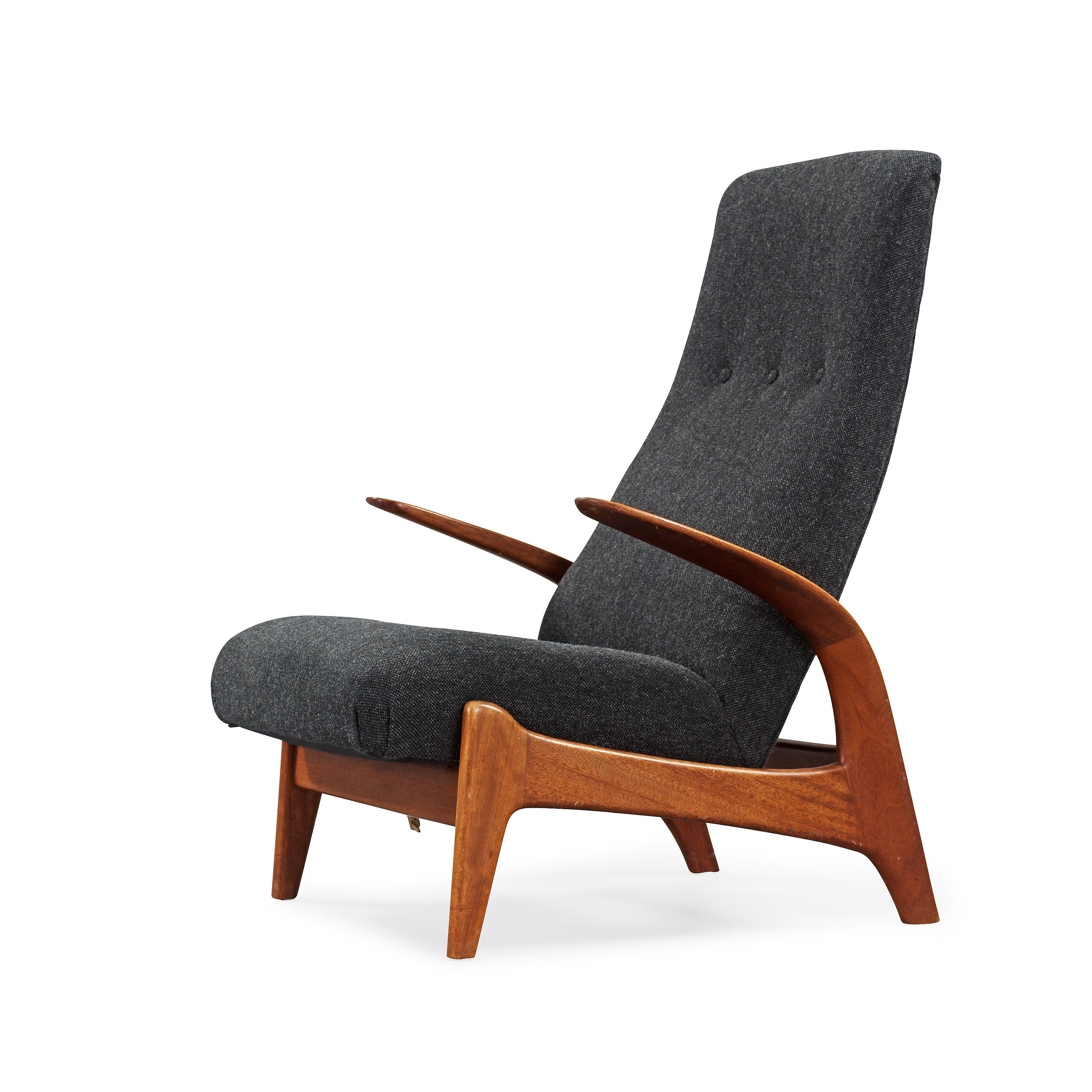 Swell A Rastad Relling Teak Rock N Rest Lounge Chair Download Free Architecture Designs Philgrimeyleaguecom