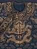 Robe, silk. china 19th century. height 141 cm.