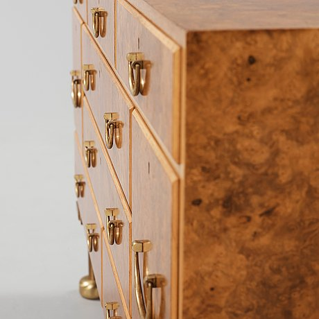 "A josef frank chest of drawers ""tyresöbyrån"", firma svenskt tenn, probably 1950's-60's."