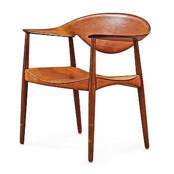 15. An Aksel Bender Madsen & Ejner Larsen 'Metropolitan Chair' by Willy Beck, Denmark 1950-60's.