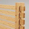 A set of six gunnar aagaard andersen bamboo 'lamella chairs', for matzform.