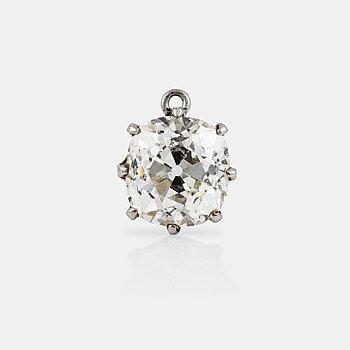 1110. A circa 1.80 ct old-cut diamond  pendant. Quality circa K-L/VS.