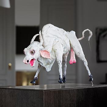"""315. Nathalie Djurberg, """"Bull""""."""