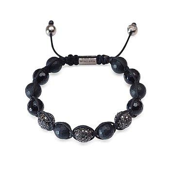 """10. DIAMANTARMBAND, """"Black Diamond Bracelet"""", unisex, Nialaya, 2014."""
