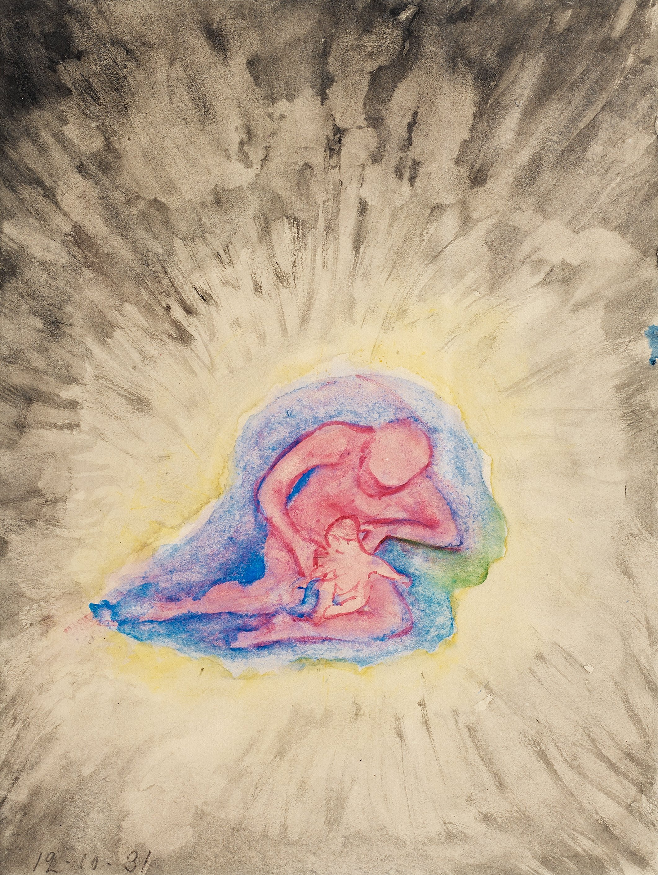 hilma af klint  mother and child