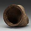 A grey earthenware 'li' tripod, neolithic, circa 1500 bc.