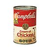"Andy warhol, ""campbell's cream of chicken soup""."