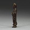 Guanyin, brons. qingdynastin, 1700-tal.