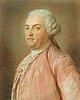 Jean-baptiste perroneau attributed to, a gentleman in a pink robe (m sarasin de bordeaux).