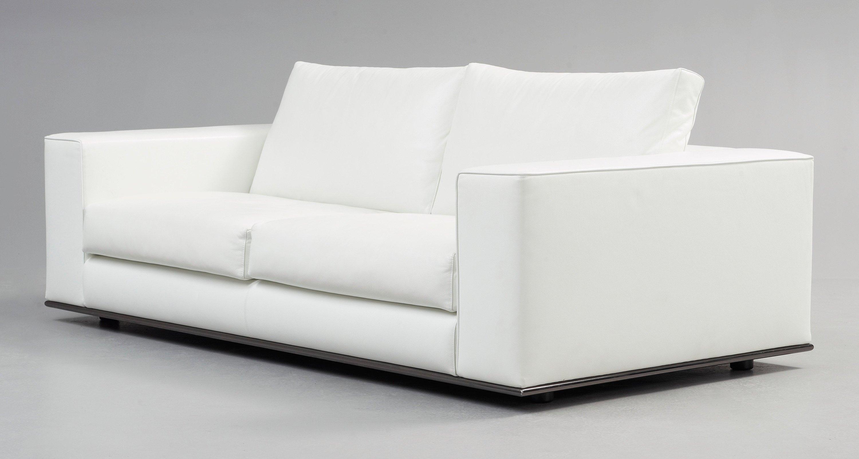 Peachy A Rodolfo Dordoni White Leather Hamilton Sofa Minotti Caraccident5 Cool Chair Designs And Ideas Caraccident5Info