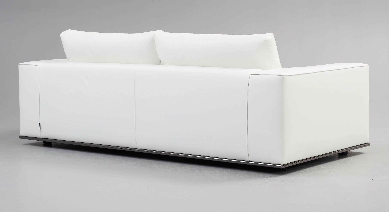 Pleasing A Rodolfo Dordoni White Leather Hamilton Sofa Minotti Caraccident5 Cool Chair Designs And Ideas Caraccident5Info