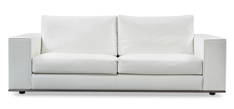 Magnificent A Rodolfo Dordoni White Leather Hamilton Sofa Minotti Caraccident5 Cool Chair Designs And Ideas Caraccident5Info