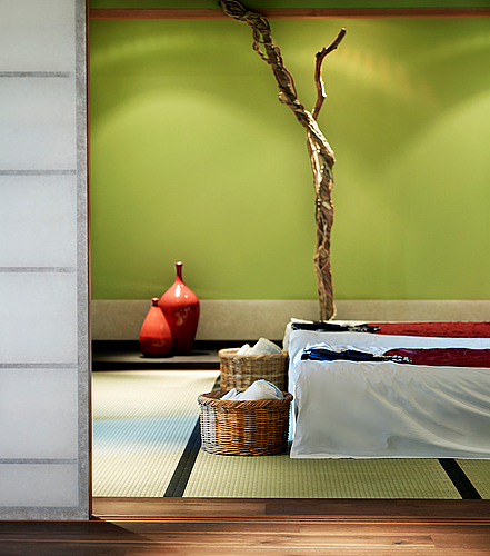 Yasuragi hasseludden, övernattning i svit inkl middag, frukost och massage för två personer.