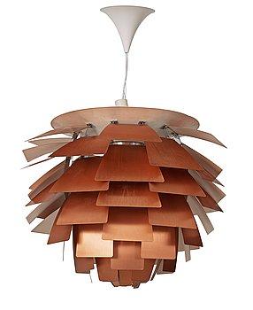 10. A Poul Henningsen 'PH-Artichoke' ceiling lamp, Louis Poulsen, Denmark.