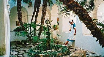 "217. Dana Sederowsky, ""Loggia, Villa San Michele, Capri 2005""."