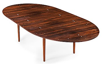 "4. FINN JUHL, matbord ""Judas"", sannolikt Niels Vodder, Danmark 1960-tal."