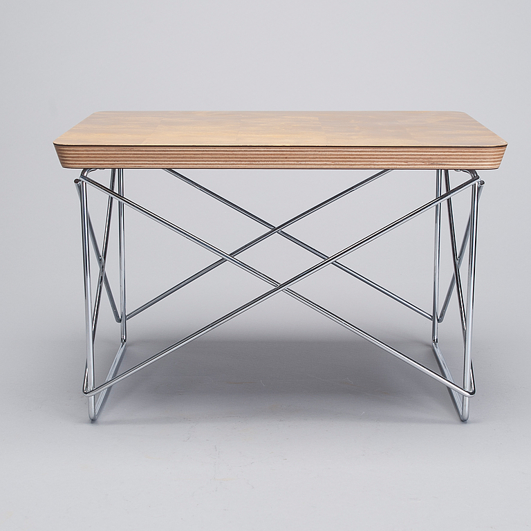 Soffbord charles ray eames ltr occasional table vitra design museum 1 - Eames occasional table ...