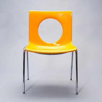 """TUOLI, """"Afo-Seat-2001"""", Hiort af Ornäs, SOK Rauman Tehtaat, 1970-luku."""