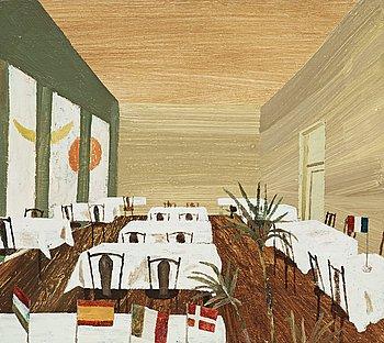 """311. Jockum Nordström, """"Matsalen på Hotell Continental""""."""