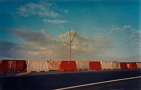 """Pavel wolberg, """"sderot intersection"""", 1998."""