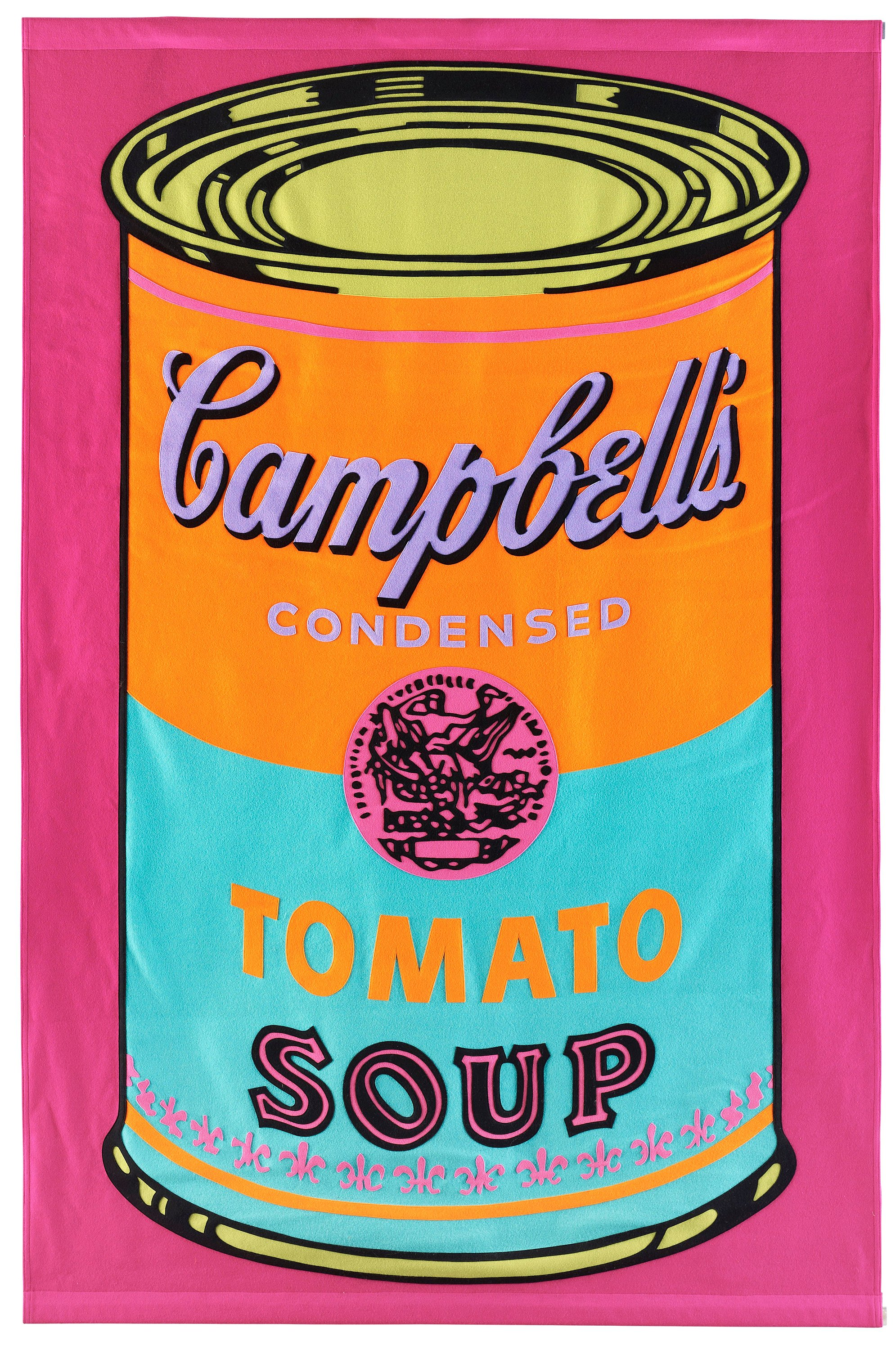 andy warhol campbell 39 s tomato soup banner bukowskis. Black Bedroom Furniture Sets. Home Design Ideas