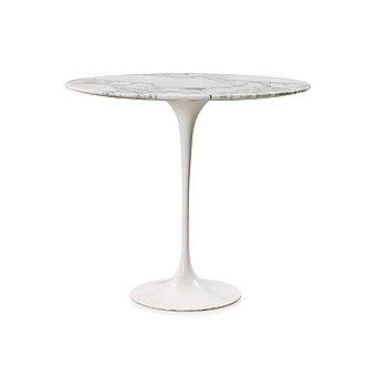 106. An Eero Saarinen 'Tulip' marble top side table, Knoll International.
