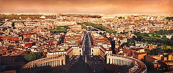 "255. DAVID DREBIN, ""Dreams of Rome"", 2012."