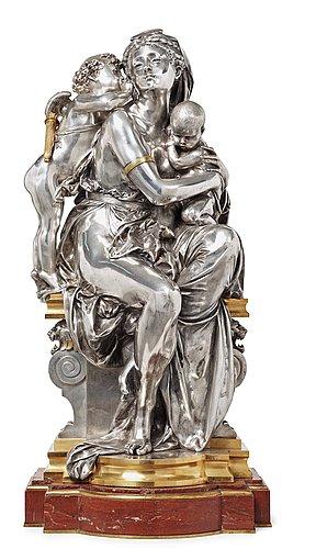 "Albert carrier-belleuse, ""entre deux amours"" (= between two loves)."