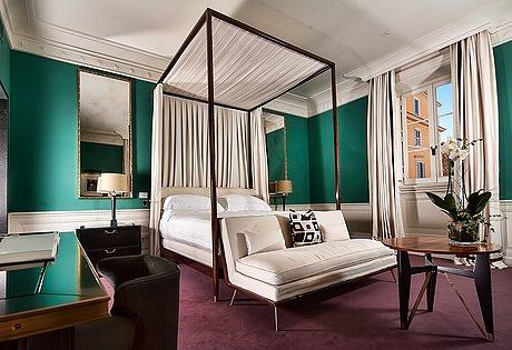 Weekend i rom, övernattning två nätter på j.k place roma, gäller för två pers.
